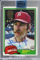 Sparky Lyle (1981 Topps) [BuyBack] #/98