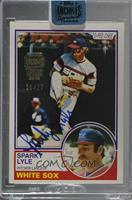 Sparky Lyle (1983 O-Pee-Chee) [BuyBack] #/27
