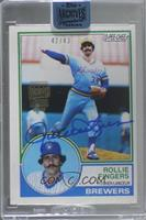Rollie Fingers (1983 O-Pee-Chee) #/43