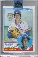Charlie Hough (1983 Topps) [Buy Back] #/94