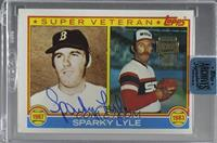 Sparky Lyle (1983 Topps) [BuyBack] #/57