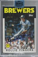 Rollie Fingers (1986 Topps) [BuyBack] #/99