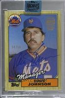 Davey Johnson (87 Topps) /60 [Buy Back]