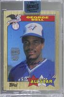 George Bell (1987 Topps) [Buy Back] #/65
