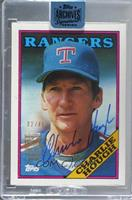 Charlie Hough (1988 Topps) [Buy Back] #/45