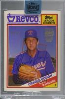 Charlie Hough (1988 Topps Revco League Leaders) #/10