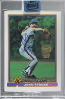 John Franco (1991 Bowman) [Buy Back] #/9