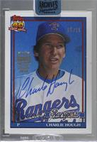Charlie Hough (1991 Topps) [BuyBack] #/25