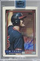 Jim Thome (1992 Topps) [Buy Back] #/1