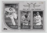 Stat Kings Trio - Stephen Strasburg, Max Scherzer, Clayton Kershaw #/50