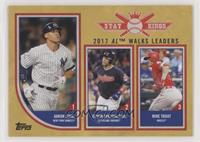 Stat Kings Trio - Mike Trout, Edwin Encarnacion, Aaron Judge