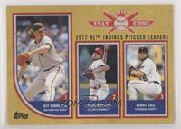 Stat Kings Trio - Gerrit Cole, Jeff Samardzija, Carlos Martinez