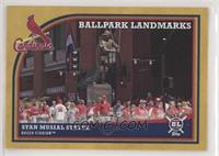Ballpark Landmarks - Stan Musial Statue