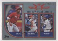 Stat Kings Trio - Matt Carpenter, Kris Bryant, Joey Votto #/100