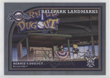 2018 Topps Big League - [Base] - Rainbow Foil #363 - Ballpark Landmarks - Bernie's Dugout /100
