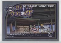 Ballpark Landmarks - Bernie's Dugout #/100