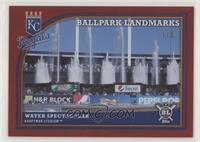 Ballpark Landmarks - Fountains #/1