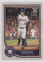 Base - Jose Altuve (Umpire Behind Altuve)