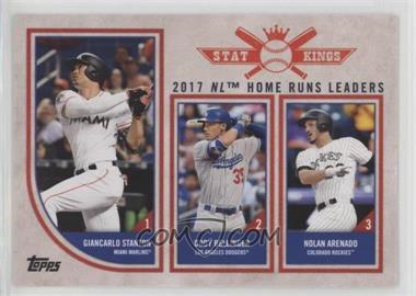 2018 Topps Big League - [Base] #301 - Stat Kings Trio - Giancarlo Stanton, Cody Bellinger, Nolan Arenado