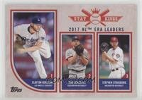 Stat Kings Trio - Clayton Kershaw, Max Scherzer, Stephen Strasburg
