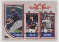 Stat Kings Trio - Carlos Carrasco, Corey Kluber, Jason Vargas