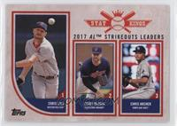 Stat Kings Trio - Chris Archer, Corey Kluber, Chris Sale