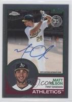 Matt Olson #/50