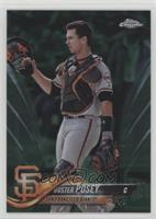 Base - Buster Posey (In Catching Gear) /99