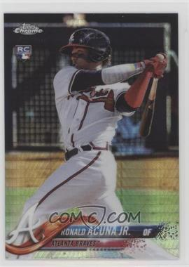 2018 Topps Chrome - [Base] - Prism Refractor #193 - Ronald Acuña Jr.