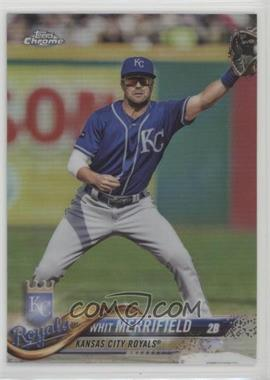 2018 Topps Chrome - [Base] - Refractor #144 - Whit Merrifield