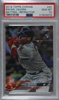 Base - Rafael Devers (Swinging Bat) [PSA 10 GEM MT]