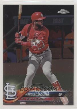2018 Topps Chrome - [Base] #149 - Marcell Ozuna