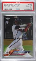 Ronald Acuña Jr. [PSA 10 GEM MT]