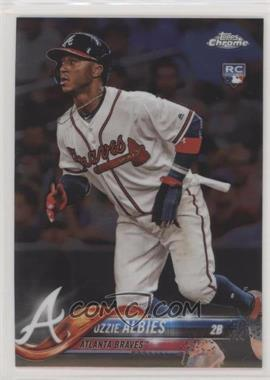 2018 Topps Chrome - [Base] #72 - Ozzie Albies