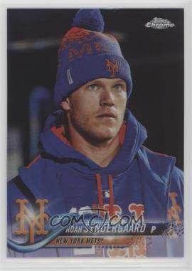 2018 Topps Chrome - [Base] #99.2 - Noah Syndergaard (In Dugout)