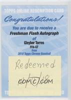 Gleyber Torres [Being Redeemed]