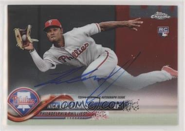 2018 Topps Chrome - Rookie Autographs #RA-NW - Nick Williams