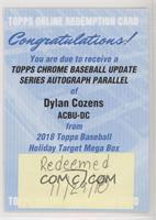 Dylan Cozens [BeingRedeemed]