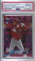 Rookie Debut - Shohei Ohtani [PSA 10 GEM MT]