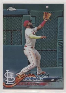2018 Topps Chrome Update - Target Exclusive [Base] - Refractor #HMT46 - Marcell Ozuna /250