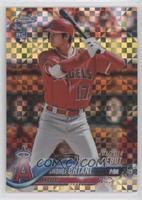 Rookie Debut - Shohei Ohtani #/99