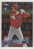 Rookie Debut - Shohei Ohtani