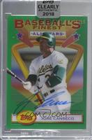 Jose Canseco /99 [Uncirculated]