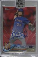 Noah Syndergaard [Uncirculated] #/50