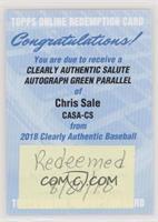 Chris Sale [BeingRedeemed]