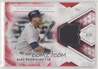 Alex Rodriguez #/5