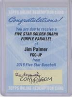 Jim Palmer [BeingRedeemed] #/25
