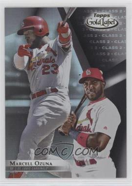 2018 Topps Gold Label - [Base] - Class 2 Black #91 - Marcell Ozuna