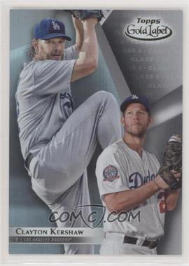 2018 Topps Gold Label - [Base] - Class 2 #52 - Clayton Kershaw - Courtesy of COMC.com