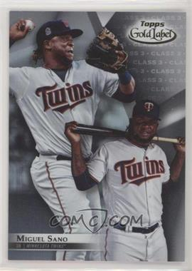 2018 Topps Gold Label - [Base] - Class 3 #60 - Miguel Sano